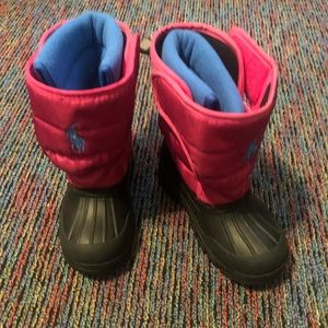 POLO by Ralph Lauren snow boots size 11